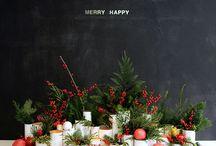 ChriSTmaS InSpiraTiOn / Christmas and Winter decor and inspiration.