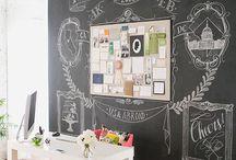 sTuDiO iDeAs / My art studio decor and inspiration. / by Teresa McFayden