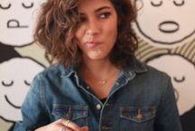 curly girl hair :)