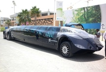 Dubai: Dubai Superbus To Abu Dhabi / The Superbus was unveiled at the World Exhibition of the International Association of Public Transport in Dubai in April 2011 by Dutch astronaut Wubbo Ockels.