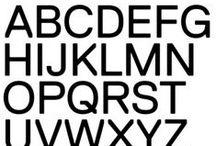Typography / by Yarron Felder
