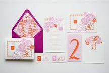 invitations / invitations, stationery and other paper collateral