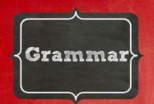 Grammar / grammar ideas / by Terri Douglas