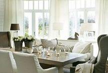 Living & Dining Room Inspiration.