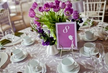 Tulip Wedding Stationery ©Platypus Papers / This was a beautiful brunch wedding in Canada. The bride has Dutch roots and she wanted to include tulips throughout. We loved working with this international couple (Australian & Canadian)!
