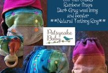 PatsycakeBaby Shop / Cloth Diapers, Natural Teething, Organic fabrics, Wool, Blankets, handmade balms, Powders and more!