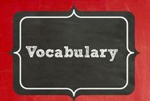 Expanding Vocabulary / Activities and anchor charts to help promote expanding a student's vocabulary. / by Terri Douglas