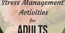 Stress Management Activities for Adults / Stress Management Activities for adults, Stress Management Activities for adults therapy worksheets, Stress Management Activities for adults mental health, Stress Management Activities for coping skills