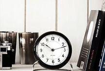 置き時計 北欧