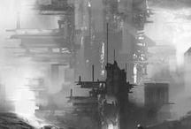 Sketches / Environments sketches