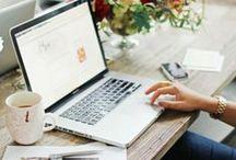 OFFICE DECOR + WORK LIFE / office inspiration & work info