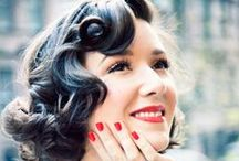 Powder Puffs & Pin Curls / All about make up & hair  / by Empireroom