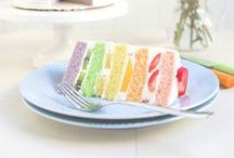 Eat In Color / What's better than colorful food?
