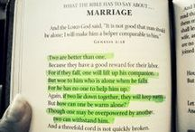 Marriage / by Katie Elaine Dawson