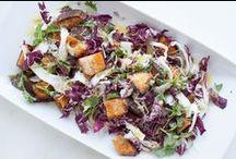 SOUPS & SALADS / soup and salad recipes.