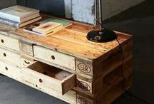 Pallet ideas / The art of changing pallets into furniture