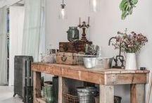 Brocante / Inspiration déco autour du style brocante  #decoration #brocante