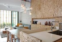 Bois / Toute l'inspiration déco autour du matériau bois  #bois #décoration #diy
