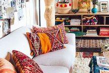 Ethnique / Inspiration déco dans le style ethnique.   #décoration #ethnique