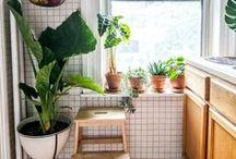Salles de bains / Inspirations déco pour la salle de bains.   #décoration #salledebains