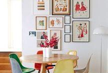 Salles à manger / Inspirations déco pour la salle à manger  #décoration #salleamanger