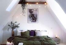 Chambres / Inspirations déco pour la chambre  #décoration #chambres