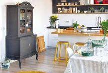Cuisines / Inspirations déco pour la cuisine  #décoration #cuisine