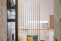Petits espaces / Inspirations déco et agencement pour les petits espaces.   #décoration #petitsespaces