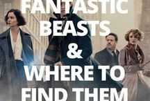 Fantastic Beasts And Where To Find Them / World famous Harry Potter author J. K. Rowling had pre-mentioned the textbook Fantastic Beasts And Where To Find Them several times throughout the Harry Potter book series. It is a directory of magical creatures and brought to life as a Comic Relief fund raiser in 2001. Fast-forward 15 years for a movie adaptation that sees Newt Scamander lose his beloved magical beasts in the tense no-mag (non-magical folk) state of New York.