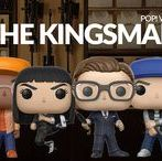 """Funko - The Kingsman / This first Kingsman Funko POP series gives you Harry Hart and his young protégé Gary """"Eggsy"""" Unwin as well as villains Valentine and Gazelle. A must for all Kingsman fans!"""