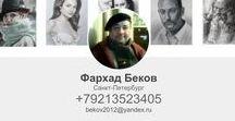Farhad Bekov / Russian portraitpainter. Sankt-Petersburg.