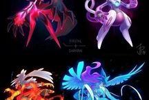 4. mixed pokemon drawings