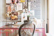 office inspiration  / by Jeslyn Davis
