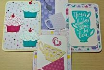 Commissioned Cards / These cards I was asked to do by various Customers.  I love making these cards, very challenging!
