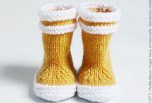 Hello Yellow / Inspirations tricot jaunes