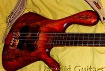 Darens model, hawaian Mango top / Trying to find a powerful but sweet sound, Javier JanAid used here several special woods, included this amazing spalted Mango top