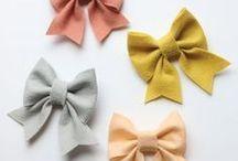 Fashion DIY | Schleifen und Accessoires / Accessoires und Schleifen gehören zum Look. Hier findest du schöne Idee zum selber machen.