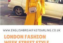 London street style / Featuring the best in London Street Styles .