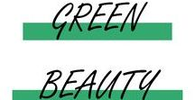 GREEN BEAUTY / Le meilleure des soins, produits de maquillages pour se faire belle et respecter la planète !