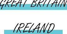GREAT BRITAIN & IRELAND / City trip, Carnet de Voyage, Paysage de Grande Bretagne et d'Irlande !