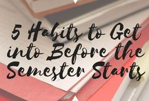 Studying / Tipps for college students how to stay organized during semester and master your exams.