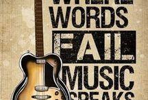 ♪ music ... Guitars ♫♪ / Fotografie over gitaren