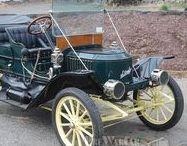 § AUTOMOBILES  (oldtimers) / De eerste auto's van 18 00 t/m de jaren 1920