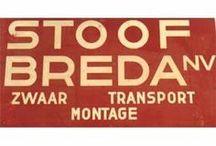 * STOOF BREDA - Transport / STOOF BREDA is opgericht in 1927 en stond in 1971 mede aan de basis van MAMMOET.