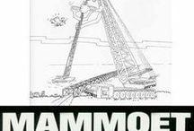 * MAMMOET - STOOF ( 1971 1996 ) hijskranen