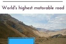 """Khardungla, Leh Ladakh, India / Khardung La is a mountain pass in the Ladakh region of the Indian state of Jammu and Kashmir. The local pronunciation is """"Khardong La"""" or """"Khardzong La"""" but, as with most names in Ladakh, the romanised spelling varies."""