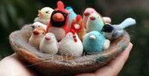Birds / Handmade birds