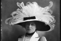 Vintage Hats / Vintage hats from all eras (pre 90s) for men and women.  Long before the ball cap was the hat of choice, people wore hats everywhere they went.  The construction and design of vintage hats was an art form!