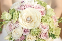 My Floral Work - Wedding - Bridal Bouquets / I love to design something special for each bride. Their wedding bouquet has to be a representation of the bride. Working with fresh flowers is my passion...