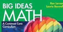 Big Ideas Math Book Covers / Big Ideas Math Common Core Curriculum book covers.